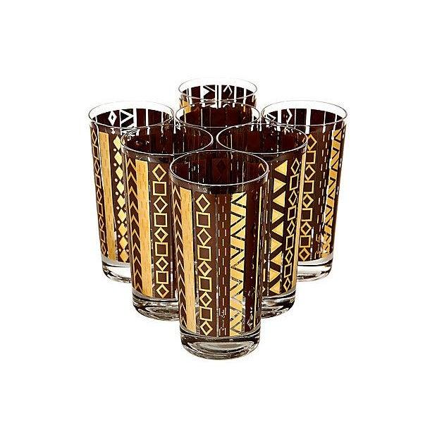 Image of Ernest Sohn Glass Tumblers - Set of 7