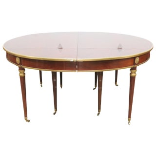 Brass Mounted Dining Table