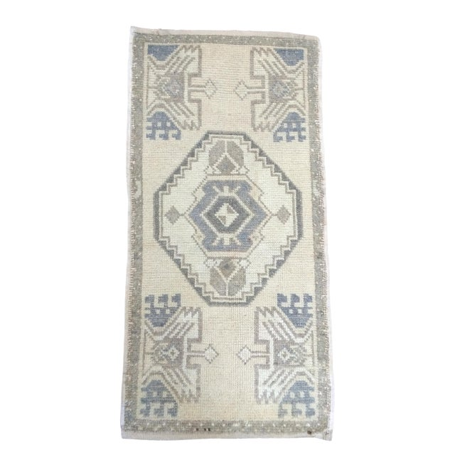 Anatolian Hand-Knotted Rug - 1′7″ × 3′1″ - Image 1 of 6