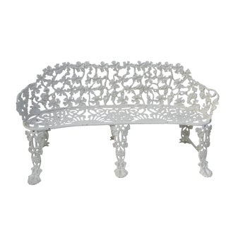 Victorian Cast Iron Footed Garden Bench