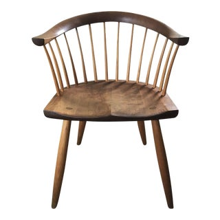 Thos. Moser Cherry & Maple Newport Chair