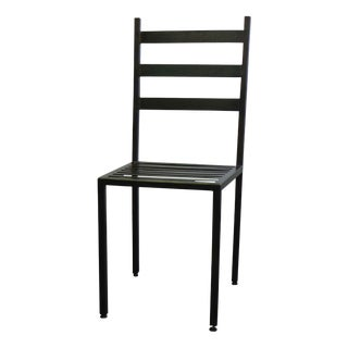Minimalist Steel Dining Side Chair