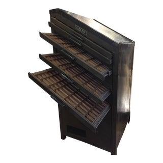 Ludlow Typesetter Printer's Cabinet