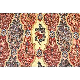 Le Manach Batik Raisin Prune Cotton Designer Fabric - 3 Yards