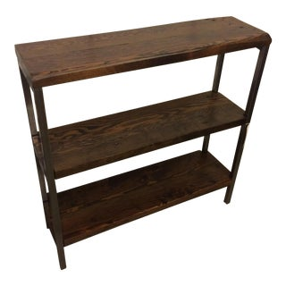 Reclaimed Bir Wood 3-Tier Shelf
