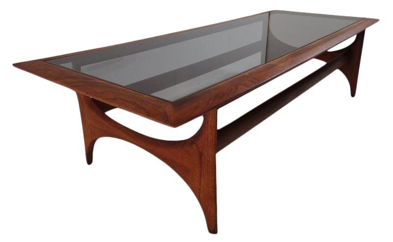 Lane Pearsall Style Mid Century Modern Coffee Table