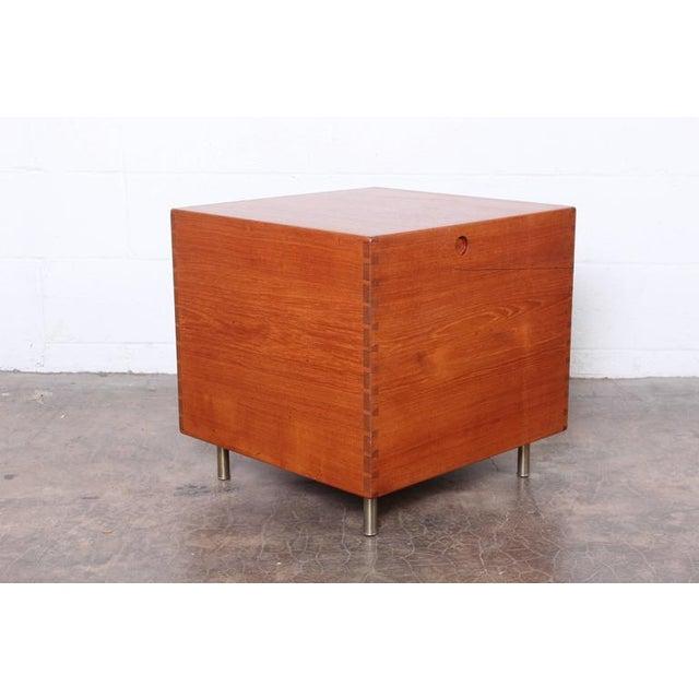 Hans Wegner Teak Cube Bar - Image 4 of 10
