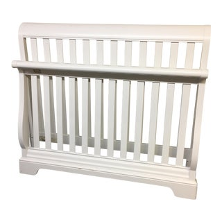 Stanley White Full Bedframe