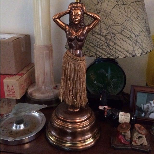 1940s Dodge Hula Girl Lamp Chairish