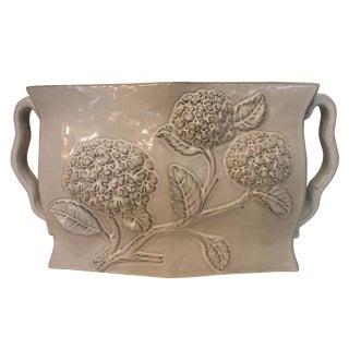 Gray Hydrangea Vase