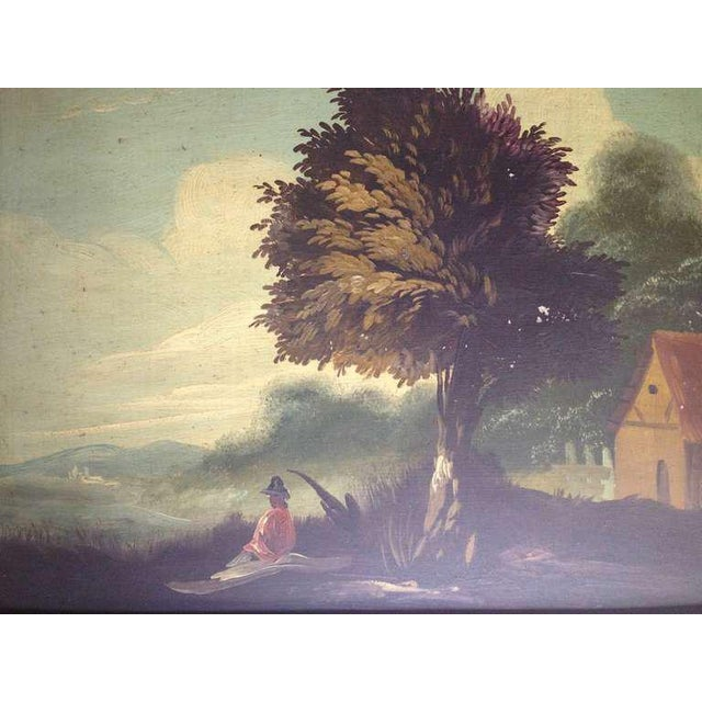 Pair of 19th Century Italian Landscapes - Image 7 of 9