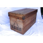Image of Antique Japanese Merchant Tea Trunk