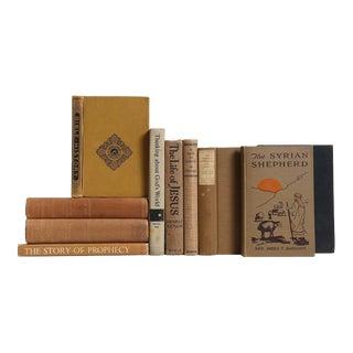 Vintage Brown Books: Sands of Christian History - Set of 10