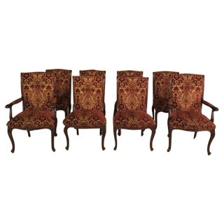 Ej Victor French Style Dining Room Chairs - S/8