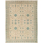 "Image of New Hand-Knotted Khotan Rug - 5'4"" X 6'10"""