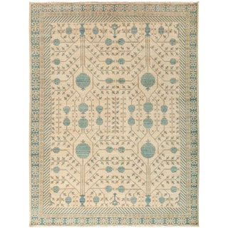 """New Hand-Knotted Khotan Rug - 5'4"""" X 6'10"""""""