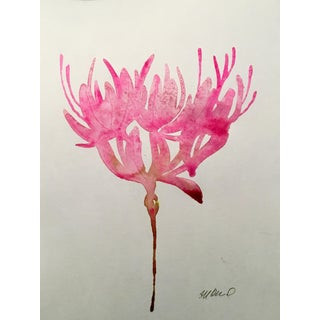 """Pink Persistence"" Original Watercolor Painting"