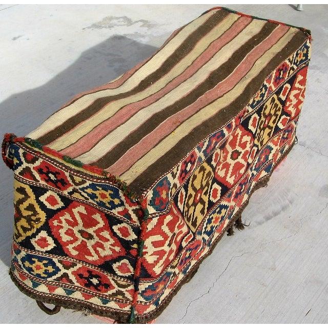 Antique Caucasian Mafrash Rug Bag - Image 5 of 5