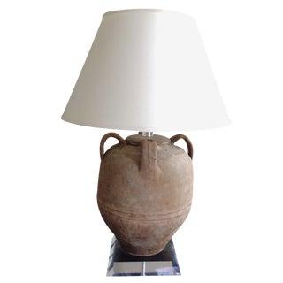 Richard Lindley Olive Jar Lamp