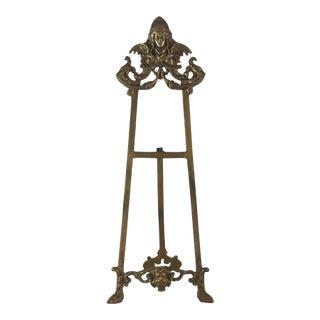 Victorian Brass Art Easel