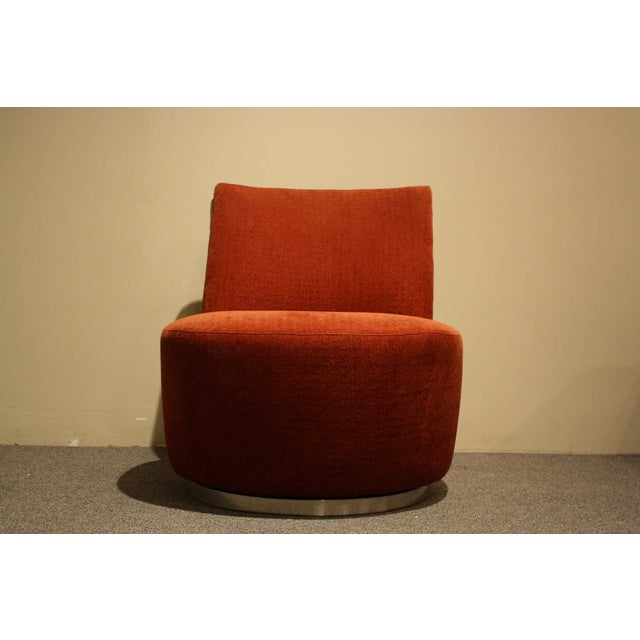 Thayer Coggin Jo Swivel Chair - Image 3 of 6