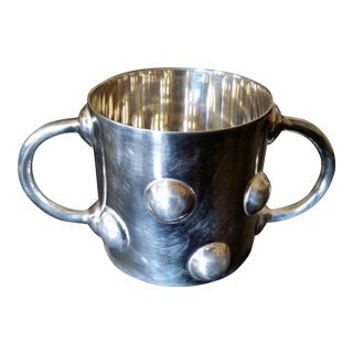 Ettore Sottsass Silver Baby Cup