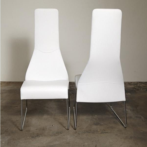 B&B Italia Lazy 05 High Back Dining Chairs - Pair - Image 3 of 3