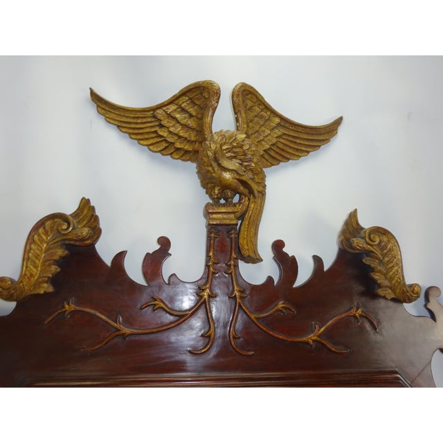 Federal Carved Wood Eagle Gilt Mirror - Image 3 of 9