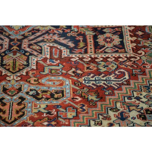 "Image of Traditional Vintage Heriz Carpet - 8'2"" X 10'4"""