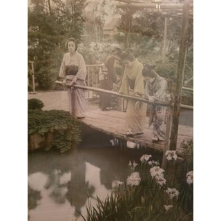 Tamamura Kozaburo Antique Handtinted Photo
