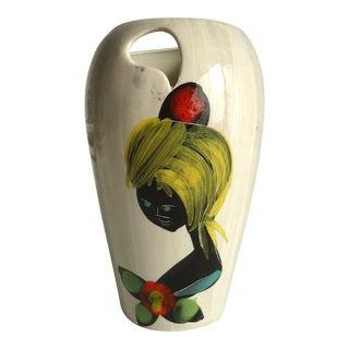 Italian Mid-Century Modern Pottery Vase