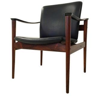 Vatne Møbler Vintage Fredrik Kayser Rosewood Chair