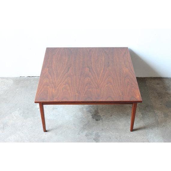 Mid-Century Walnut Coffee Table - Image 3 of 4