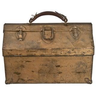Vintage Steel Tackle Box