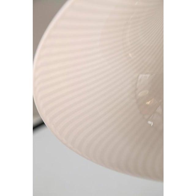 Image of Murano Swirl Glass Cone Pendant Light
