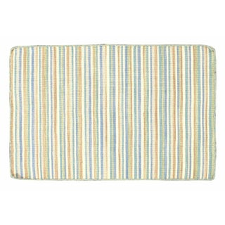 Multi-colored Striped Dhurrie - 2' x 3'