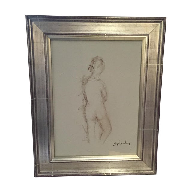Image of Framed Original Nude by Stephanie Wheeler Gallery