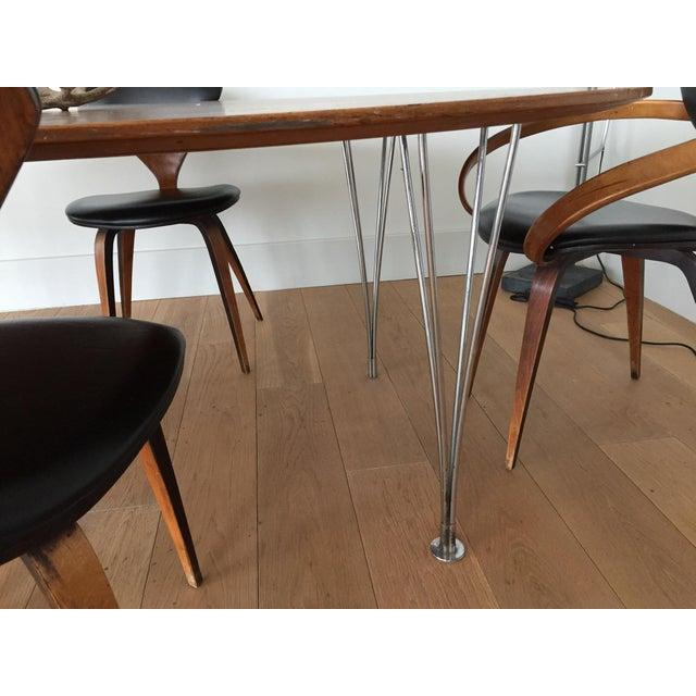Piet Hein Bruno Mathsson Ellipse Dining Table - Image 6 of 8