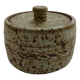 Lee Kitzman Organic Stoneware Jar