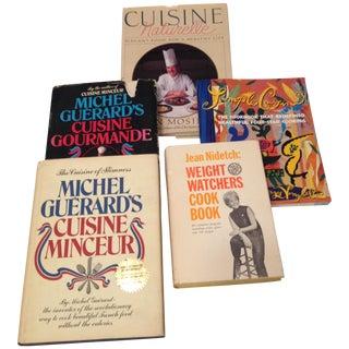 Vintage Cookbooks for a Healthy Life - Set of 5