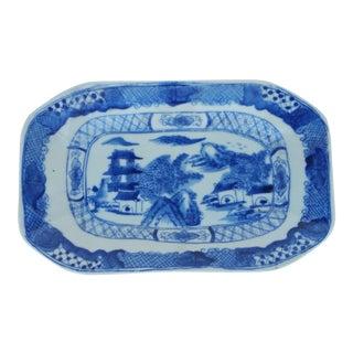 Hand Painted Pagoda Platter