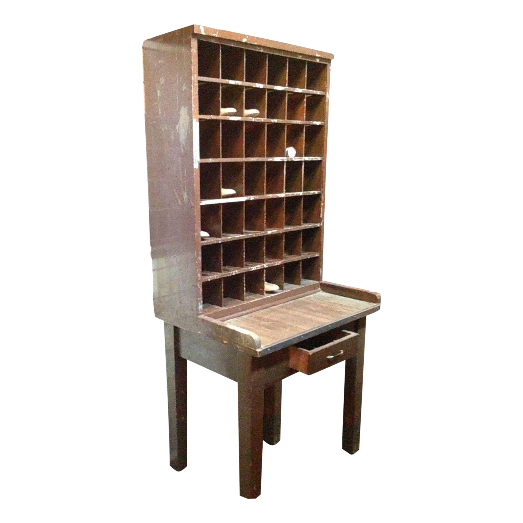 Post Office Desk Or Bar  Chairish. Help Desk Call Center Job Description. Round Table Centerpieces. Small Desk Hutch. Home Corner Desk. Black And White Chest Of Drawers. Table Cards For Wedding. Grey Table Runner. End Table Modern