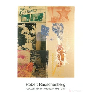 Robert Rauschenberg, Favor Rites, 1999 Poster