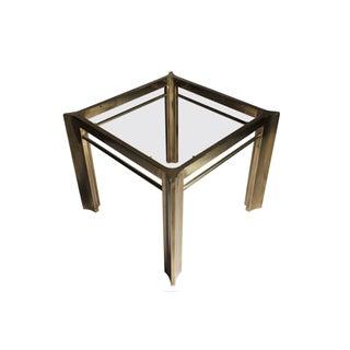 Mastercraft Brass Trilobi Side Table