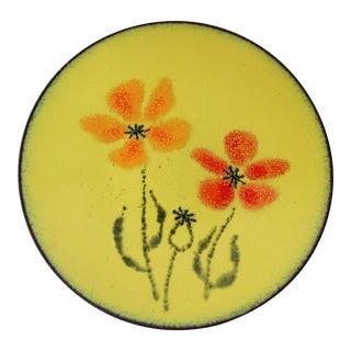 Wildweed Plate by Margaret Johnson