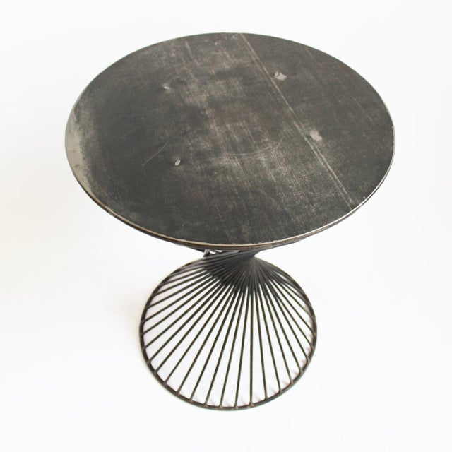 Industrial Architectural Side Table - Image 2 of 3