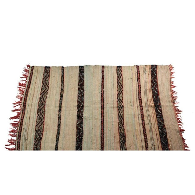 "Vintage Hand Woven Azilal Carpet - 7' X 4'7"" - Image 4 of 4"