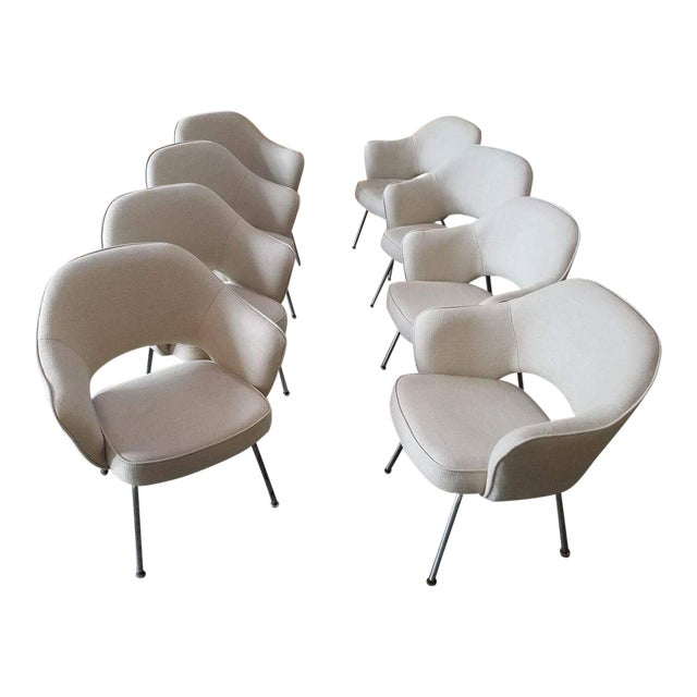Saarinen for Knoll Executive Armchairs - Set of 6 - Image 1 of 6