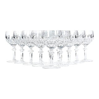 Gorham Crystal Wine Stems - Set of 12