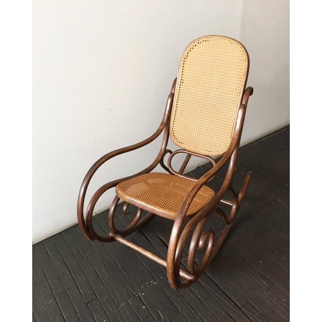 1920s Cane Amp Bentwood Rocker Chairish